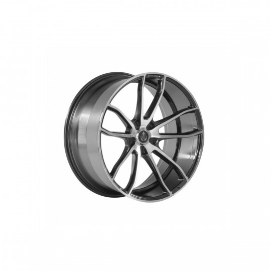 AXE EX33 22X9 5X114.3 ET35 BLACK MACHINED FACED