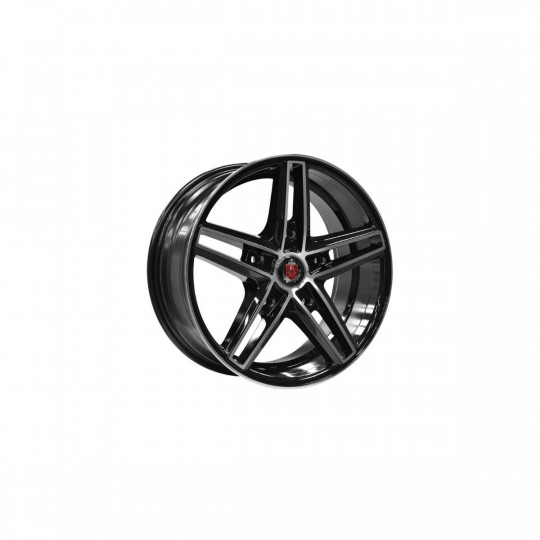 AXE EX14 TRANSIT 20X8 5X160 ET50 BLACK MACHINED FACED
