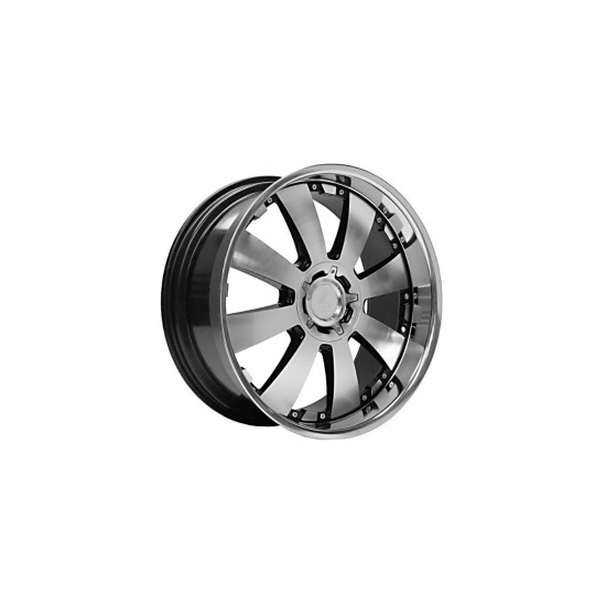 LENSO CONCERTO 18X8.5 6X114.3 ET35 BLACK MACHINED FACED