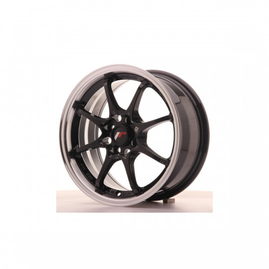 JAPAN RACING JR5 15X7 4X100 ET35 GLOSS BLACK