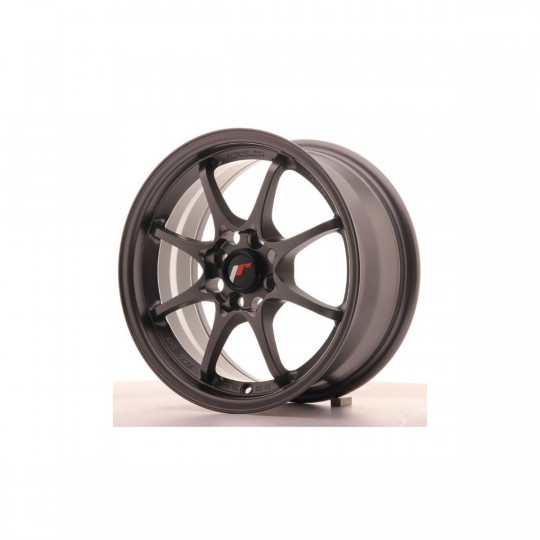 JAPAN RACING JR5 15X7 4X100 ET35 GUN METAL