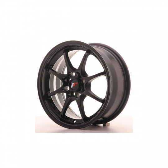 JAPAN RACING JR5 15X7 4X100 ET35 MATTE BLACK