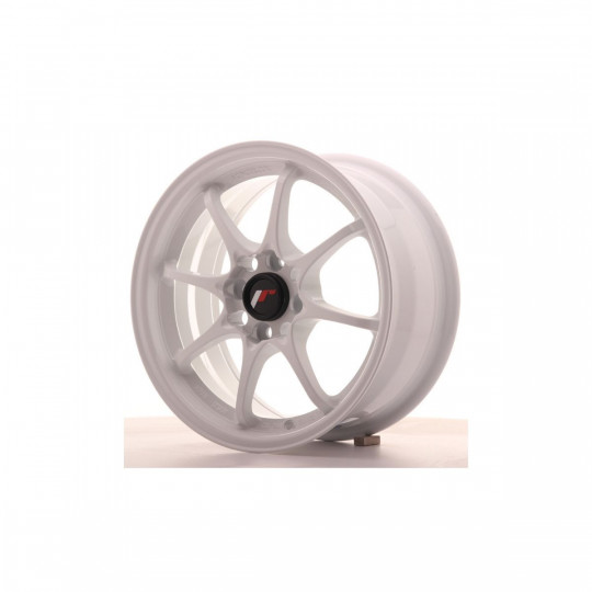 JAPAN RACING JR5 15X7 4X100 ET35 WHITE