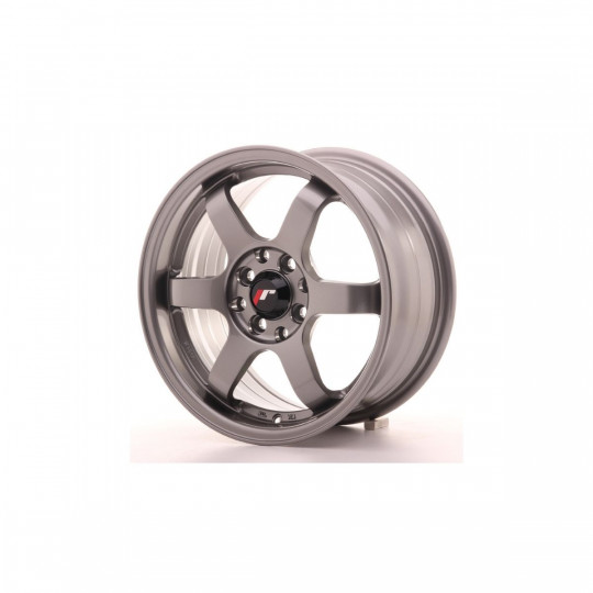 JAPAN RACING 16X7 4X100/108 ET25 GUN METAL