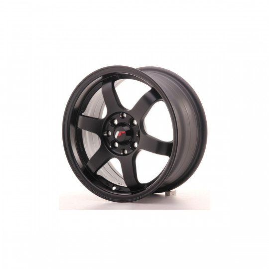 JAPAN RACING 16X7 4X100/108 ET25 MATTE BLACK
