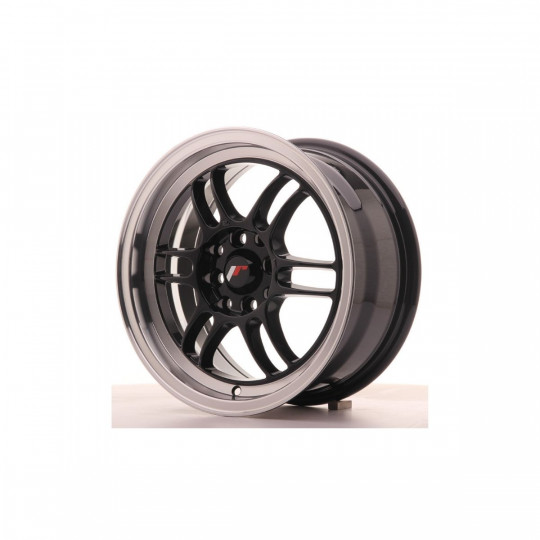JAPAN RACING JR7 15X7 4X100/114.3 ET38 GLOSS BLACK