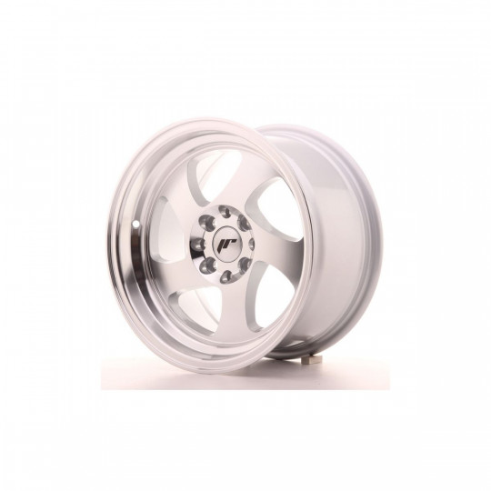 JAPAN RACING JR15 15X8 4X100/108 ET20 SILVER MACHINED FACED