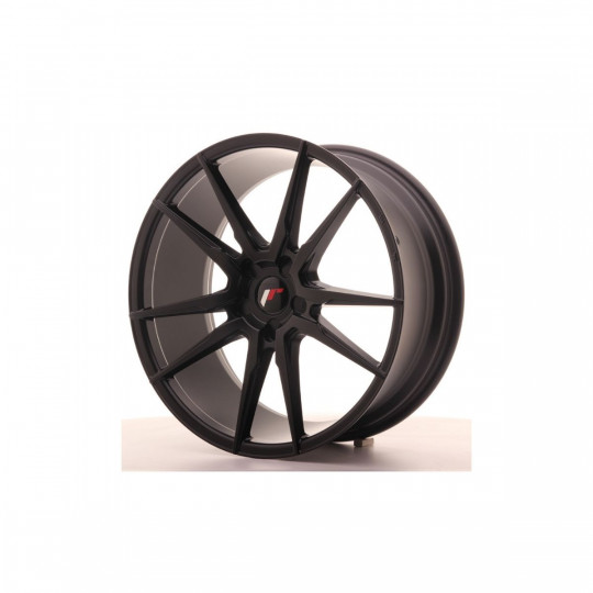 JAPAN RACING JR21 BLANK 21X10 ET45 MATTE BLACK