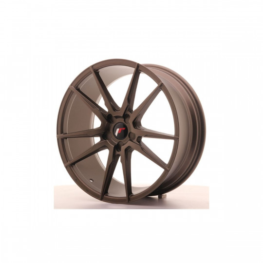 JAPAN RACING JR21 BLANK 21X10 ET45 BRONZE