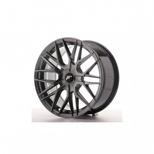 JAPAN RACING JR28 21X9 BLANK ET45 HYPER BLACK