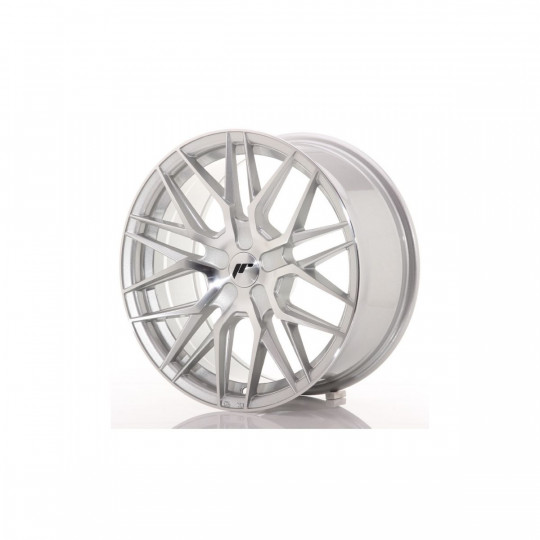 JAPAN RACING JR28 21X9 BLANK ET45 SILVER MACHINED FACED