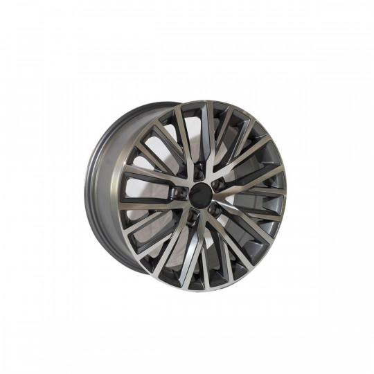 REPLICA VW STYLE 1966 17X8 5X112 ET41 GUNMETAL MACHINED FACED