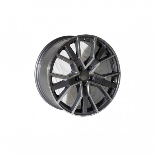 REPLICA AUDI STYLE 1332 18X8 5X112 ET45 GUNMETALL MACHINED FACED