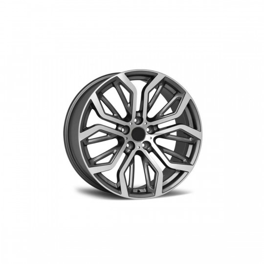 REPLICA BMW STYLE 1166 21X10.5-11.5 ET45/35 GUNMETAL MACHINED FACED