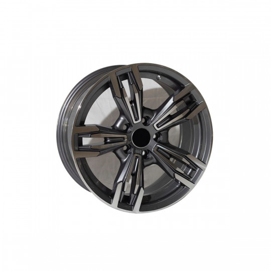 REPLICA BMW STYLE 5456 17X8 5X112 ET35 GUNMETAL MACHINED FACED