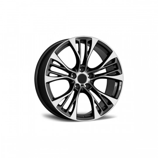 REPLICA BMW STYLE 5486 20X10-11 5X120 ET45/35 GUNMETAL MACHINED FACED