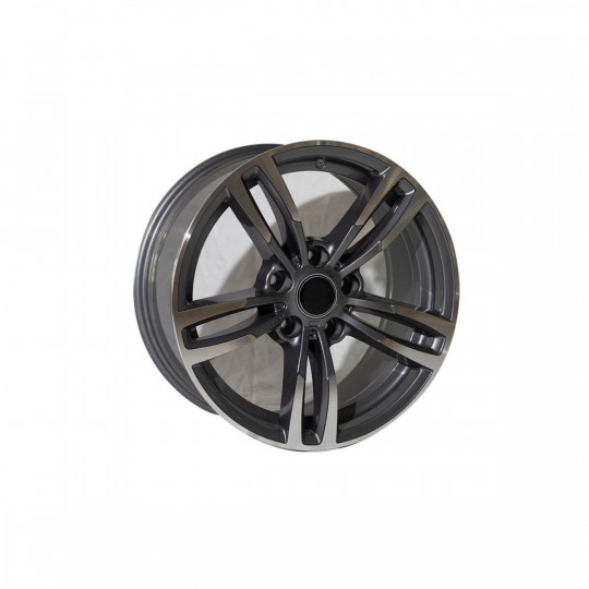 REPLICA BMW STYLE 5480 19X8.5-9.5 5X120 ET33/37 GUNMETAL MACHINED FACED