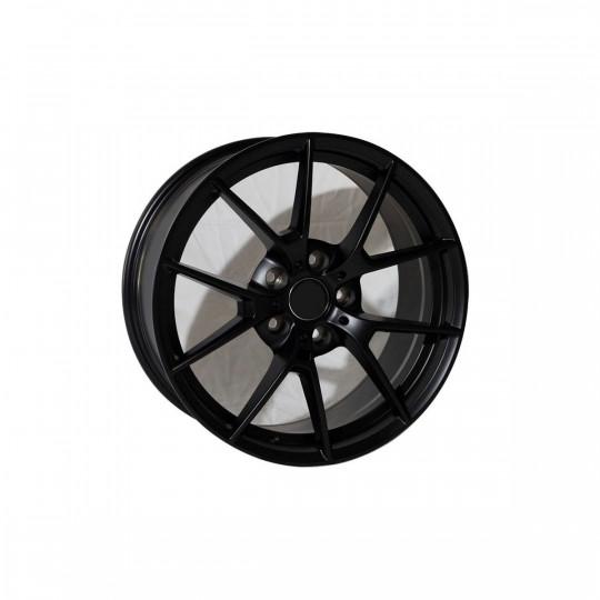 REPLICA BMW STYLE 1416 19X8.5-9.5 5X112 ET25-30 MATTE BLACK