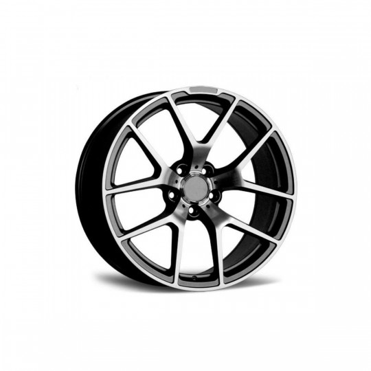 REPLICA MERCEDES STYLE 933 18X8.5-9.5 5X112 ET45 GUNMETAL MACHINED FACED