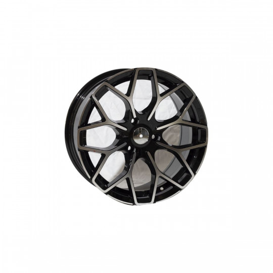 REPLICA SMART STYLE 1449 16X5.5-17X7.5 3X112 ET30/25 BLACK MACHINED FACED