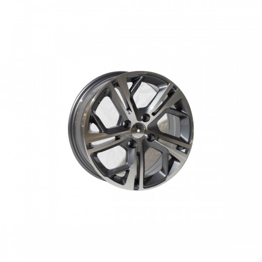 REPLICA PEUGEOT STYLE 5698 16X6.5 4X108 ET18 GUNMETAL MACHINED FACED