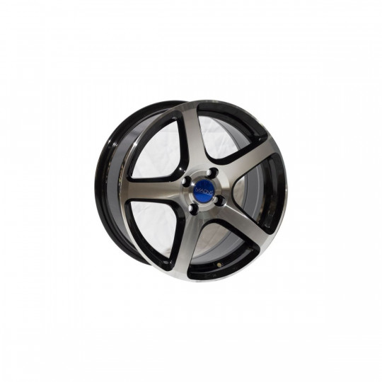 MAONS BLUE MB105 16X7 5X114.3 ET42 BLACK MACHINED FACED