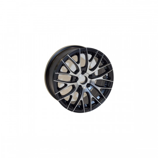 REPLICA ADV 1.0 STYLE 973 16X7 5X108 ET40 MATTE BLACK MACHINED FACED