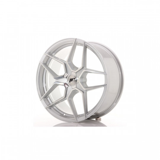 JAPAN RACING JR34 20X9 BLANK ET40 SILVER MACHINED FACED