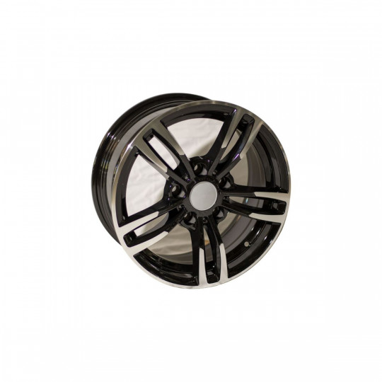 REPLICA BMW STYLE 5480 16X7 5X120 ET32 BLACK MACHINED FACED