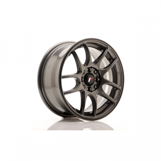 JAPAN RACING JR29 15X7 4X100/108 ET35 HYPER GRAY