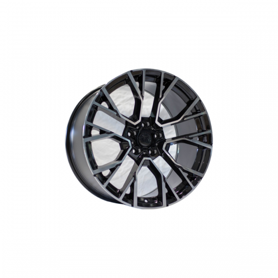 REPLICA BMW STYLE 5769 20X9-10.5 5X120 ET40/35 BLACK MACHINED FACED